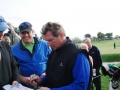 1.10 Andy getting an autograph from Joe Theisman after he played w Els 2008 Honda Classic