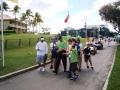 1.3 Ernie Els walking signing autographs 2008 Honda Classic