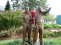 2008 Ryder Cup Valhalla 20.18 Andy w Statues