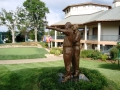 2008 Ryder Cup Valhalla 20.19 Statues Clubhouse