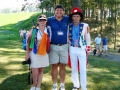 2008 Ryder Cup Valhalla 20.28 Andy w patriotic couple
