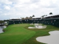 2008 4.8 WGC Doral 18th green from shotlink tower