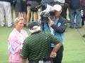 2008 4.9 WGC Doral Judith Coleman interviewing Roger Maltbie