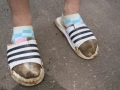 W24 7 His dirty feet