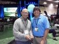 Andy Reistetter w Tim Rosaforte 2012 PGA Show