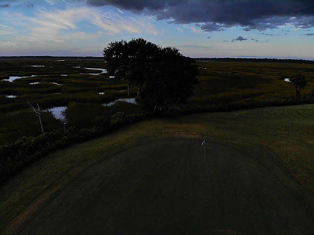 _6 Hole No. 6 Laurel Island Links 9-26-18