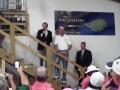 _Matt Kuchar addressing volunteers in the barn 5-13-12