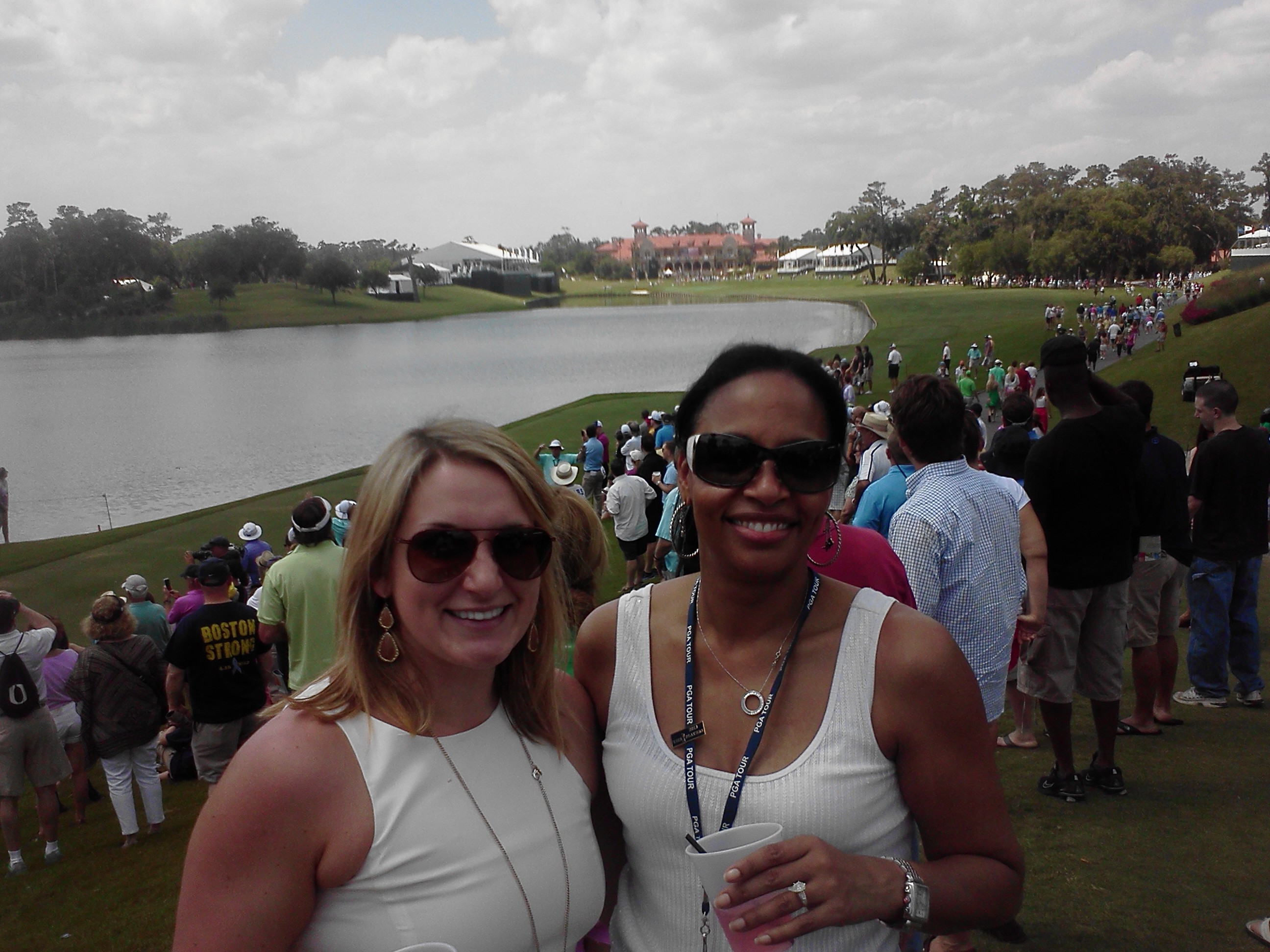 _ Astellas Ladies Katie & Pamela 18th TPC Sawgrass 5-8-13