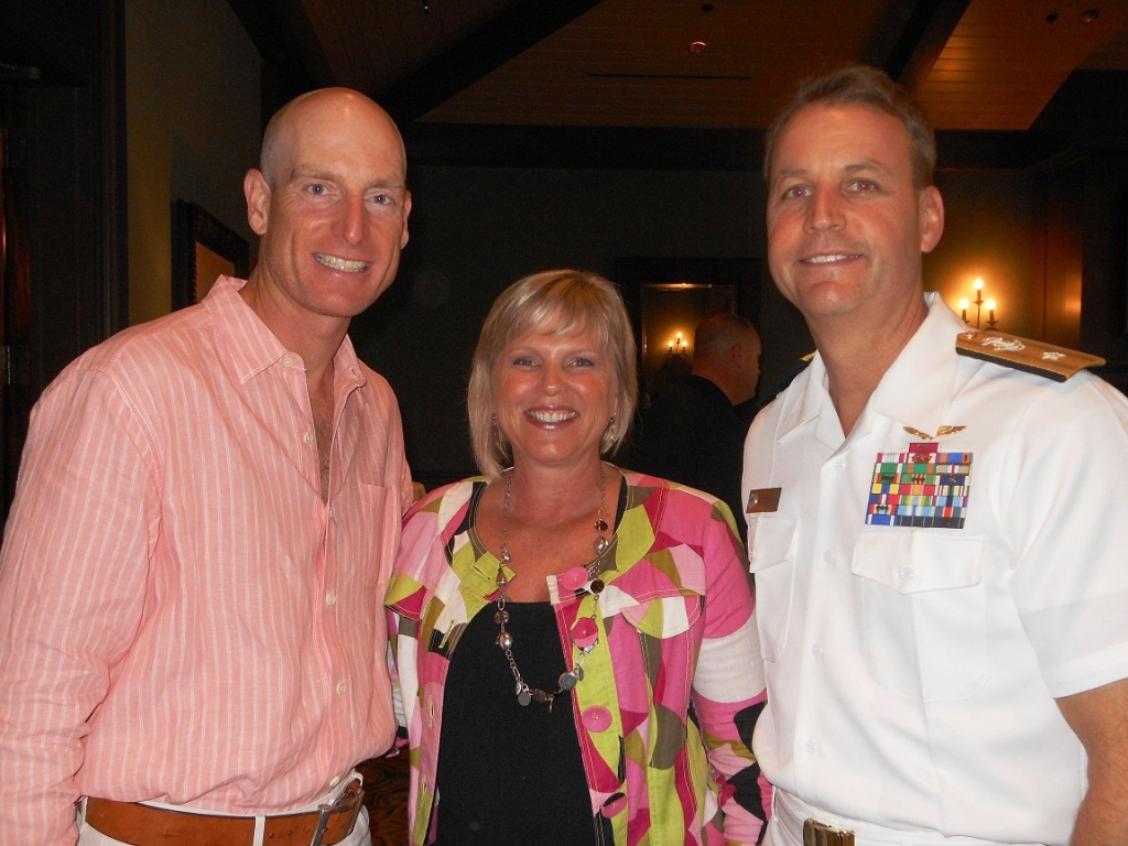 _Jim Furyk, Chris Scorby & Rear Admiral Jack Scorby