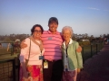 _Andy w Bea Carey & Cathy Lewis 5-11-13 Happy Mother's Day