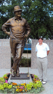 Mr. Byron Nelson, what an inspiration and larger than life in person and in golf!