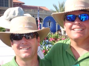 With my buddy SJ at the 2008 Jack Nicklaus Lifetime Achievement Award presentation on the back lawn.