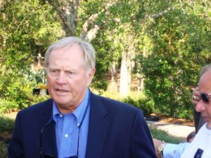Jack Nicklaus, the Greatest of All-Time per Tiger Woods!