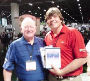 Exchanging books with Billy Casper was an honor and privilege!