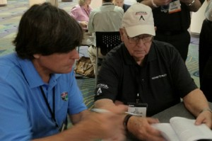 What an opportunity to meet and interview Billy Casper at the 2012 PGA Show.