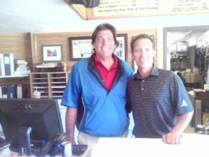 With Brandon Bowling, Head Golf Professional at Plumas Pines!