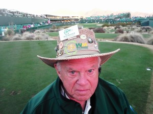 Legendary Thunderbird Bob Wasser can be found on the 16th tee every year at the WMPO. Great guy!