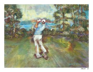 "In honor of the PGA ""The First Tee"" Fundraiser this week, I invite you to experience the moment where Art and Golf come together."