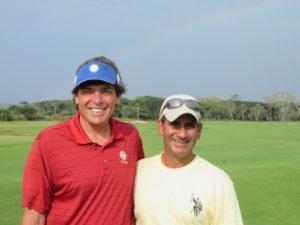 Meeting Alberto Valenzuela at TPC Cartagena at Karibana was a stroke of good fortune!