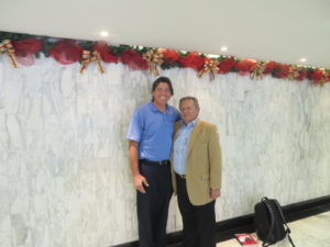 With Colombia's foremost golf columnist and television personality German Calle Sr.