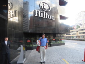 Linking JTOG life with a 4-nigth stay at the Bogota Hilton!