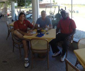 With Marcio & Vitor at Buzios Golf Club & Resort!