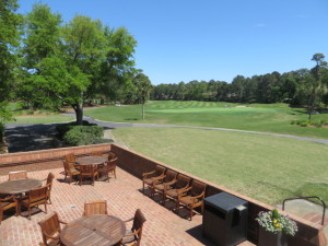 The lush green fairways of the Long Cove Club on Hilton Head Island, South Carolina!