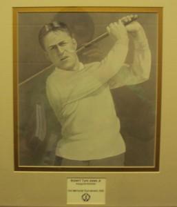 Bobby Jones' presence is felt in the Media Center at Jack's Muirfield Village Golf Club.