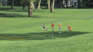 Two junior golfers... from Jones to Nicklaus and Beyond is all happening at Scioto CC!