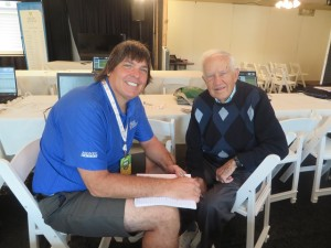 Hello again John Fox, local sportswriter for 61 years!