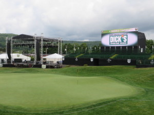 En Joie GC is all set for the golfing competition and the stage is set for the Zac Brown Band concert Friday night.