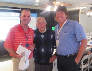 With the newest 'Mr. 59' Kevin Sutherland and 'Mr. 61 Year Sportswriter' John Fox.