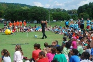 Ben Witter's golf clinics are always a big hit, no pun intended!