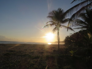 When I reached the beach and saw another Taino face I realized both suns had risen for me that morning with Isabela.