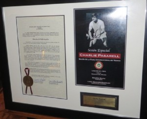 Stanley's brother charlie was inducted into the International Tennis Hall of Fame in 2013. I have yet to meet him but feel I know him through Stanley and Royal Isabela.