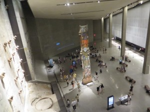 The Last Column removed from the September 11 recovery site sits at Ground Zero of the Museum.