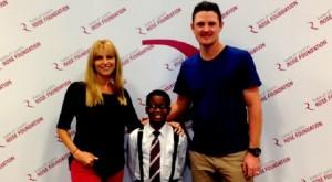 Kate & Justin Rose help kids in the Orlando community. Photo Credit: Kate & Justin Rose Foundation.