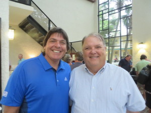 With Claude Pardue, President & CEO of Mystic Golf- The Witch, The Wizard & The Man O'War.