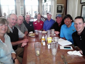 With the GTWA gang for the first time at the PGA Village in January 2012.