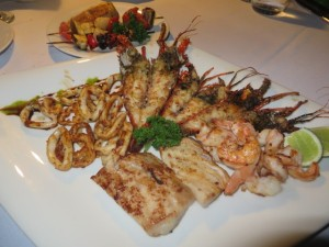The food at Casa de Campo is exceptional, especially the seafood!