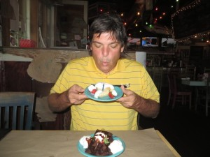 Blowing out my birthday candle was as easy as a Mystic Golf vacation to Myrtle Beach!