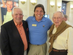 With 1968 Masters Champion Bob Goalby and 1958 PGA Champion Dow Finsterwald.