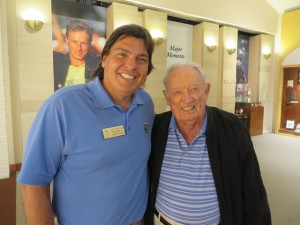 With 1967 PGA Champion Don January.