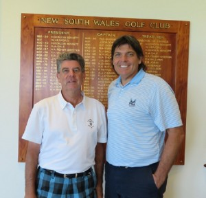 Day 3 was a splendid day spent at New South Wales Golf Club with Club Captain Phil Banister.