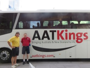 With Paul the Driver/Tour Guide on another fabulous AATKings tour!