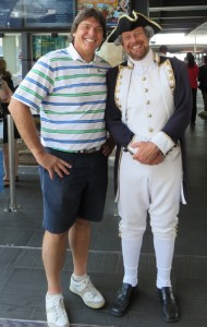 I never know who I am going to meet on the these Golf Journeys! But Captain Cook at age 287 years was not one of them!