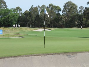 The Metropolitan Golf Club was a formidable test of golf with her well bunkered greens sharp edges.