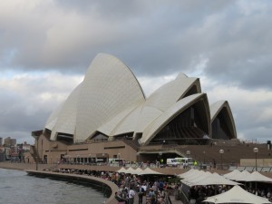 The iconic Sydney Opera House is really two and contains 3 theatres and a concert hall.