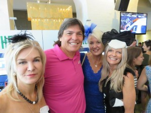 Hats galore in Sydney on Melbourne Cup Day. I can only imagine what it was like in Melbourne.