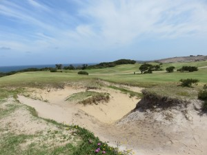 Typical bunker, though no two are alike, this is sandy, seaside links at its best!